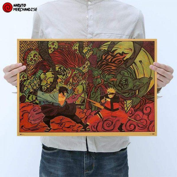 Naruto Poster Naruto vs Sasuke (Limited Edition)