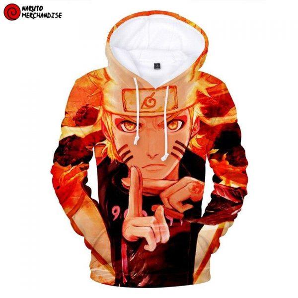 Naruto Hoodie Naruto Kyuubi Kage Bunshin