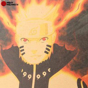 Naruto Poster Kyuubi Mode & Susanoo