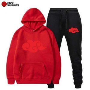 Naruto Hoodie & Pants Akatsuki Clan