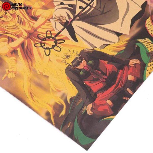Naruto Poster Descendants of Hagoromo Otsutsuki