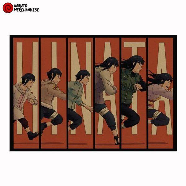 Naruto Poster Evolution of Hinata