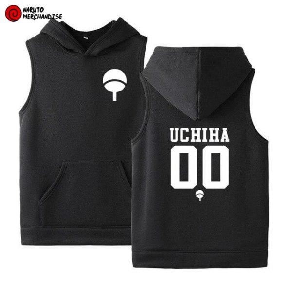 Naruto Sleeveless Hoodie Uchiha Clan