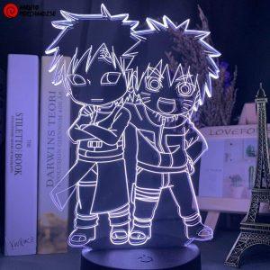 Naruto Lamp Naruto & Gaara