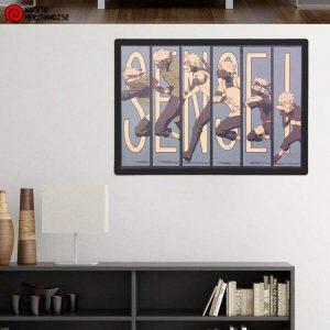 Naruto Poster Evolution of Kakashi Sensei (Limited Edition)