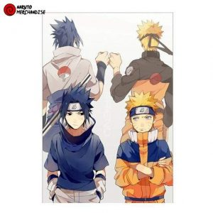 Naruto Poster Past & Future