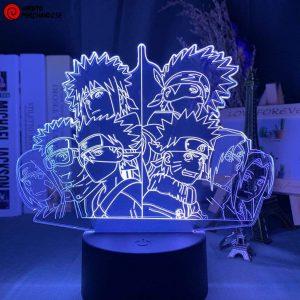 Naruto Lamp Team Minato X Team Kakashi