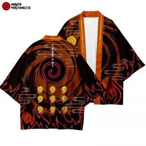 Naruto Kimono Kyuubi Mode