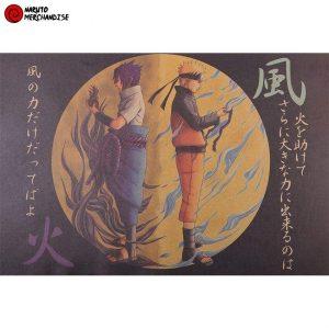 Naruto Poster Naruto & Sasuke (Limited Edition)