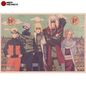 Naruto Poster Like Sensei Like Student