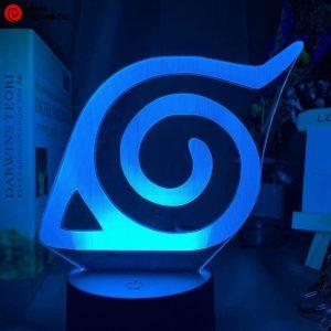 Naruto Lamp Hidden Leaf Symbol (Konoha)