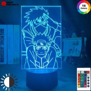 Naruto Lamp Naruto & Kakashi