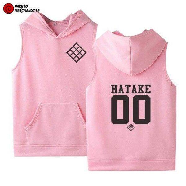 Naruto Sleeveless Hoodie Hatake Clan