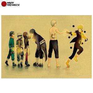 Naruto Poster Obito's Past