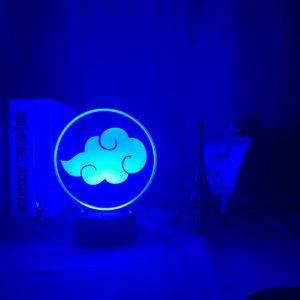 Naruto Lamp Akatsuki Cloud