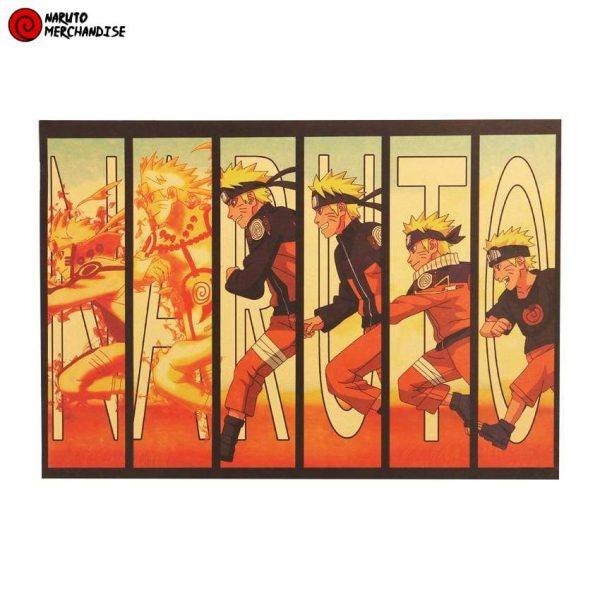 Naruto Poster Evolution of Naruto (Limited Edition)