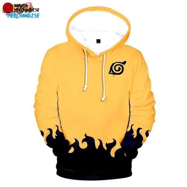 Naruto orange hoodie