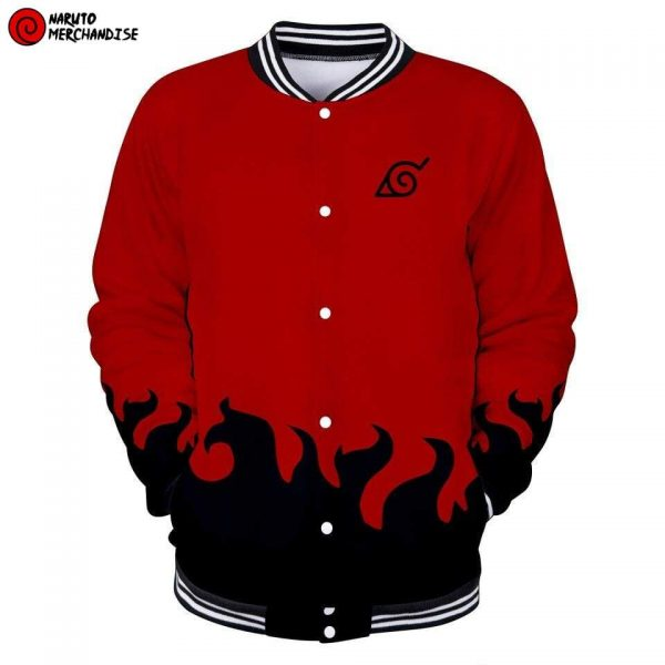 Naruto sage mode baseball jacket