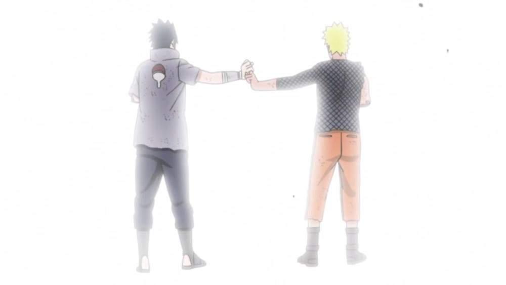 naruto and sasuke release infinite tsukuyomi