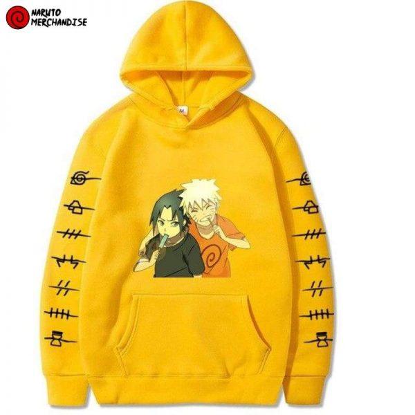 Naruto Sasuke Friends Hoodie
