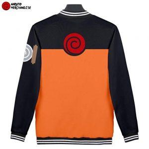 Naruto shippuden baseball jacket