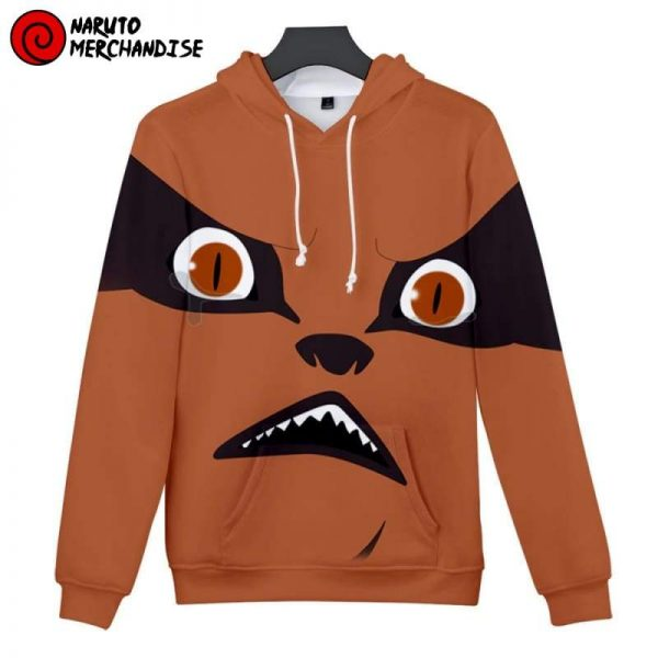 Nine Tailed Fox Face Hoodie