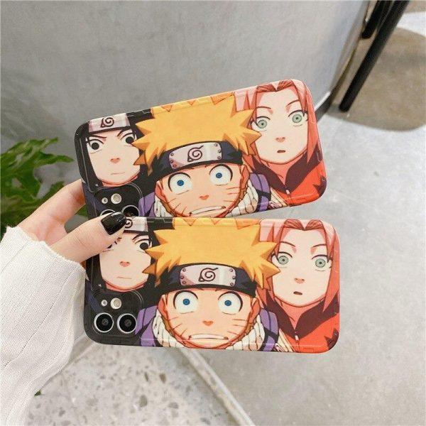 Naruto Iphone Case <br>Team 7