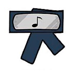 hidden sound village symbol headband