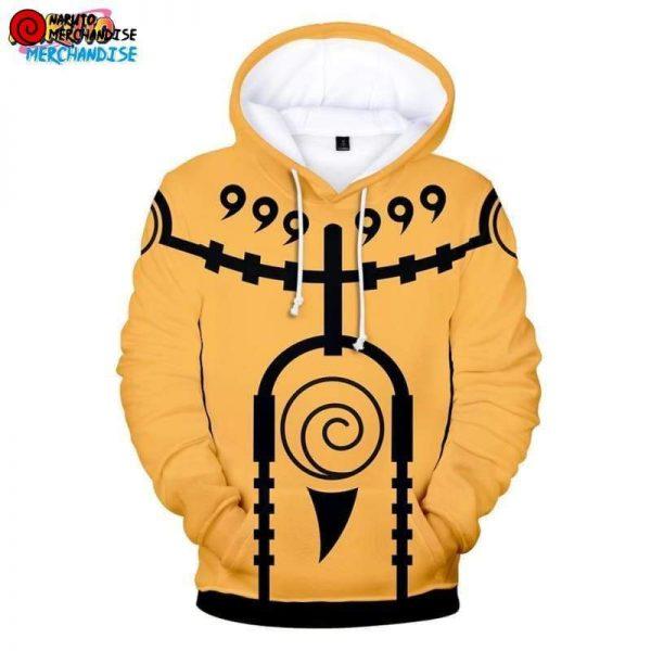 Naruto Hoodie Naruto Chakra Mode - Minato Chakra Mode / 4XL - Naruto Hoodie
