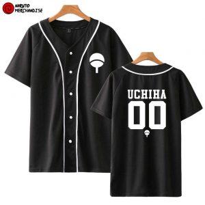 Naruto Baseball Jersey Shirt <br>Uchiha Team