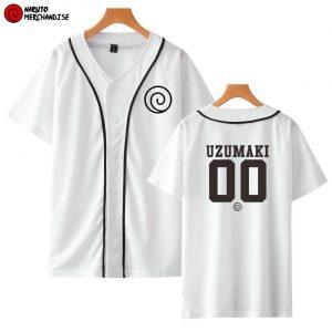 Naruto Baseball Jersey Shirt <br>Uzumaki Team