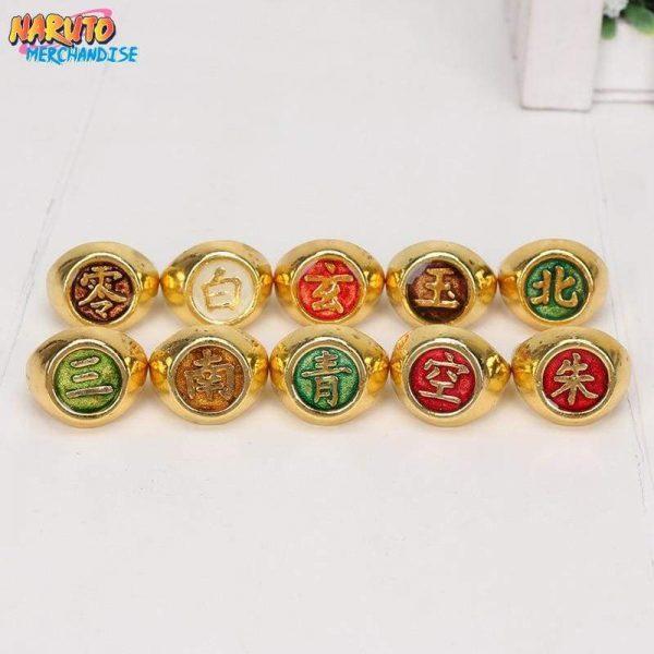 Akatsuki Ring Set (Limited Gold Edition) - Ring