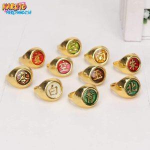 Akatsuki Ring Set<br> (Limited Gold Edition)