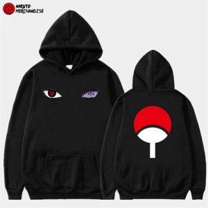 Sasuke eyes hoodie