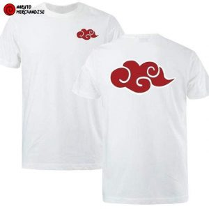 Naruto shirt <br>Akatsuki Cloud