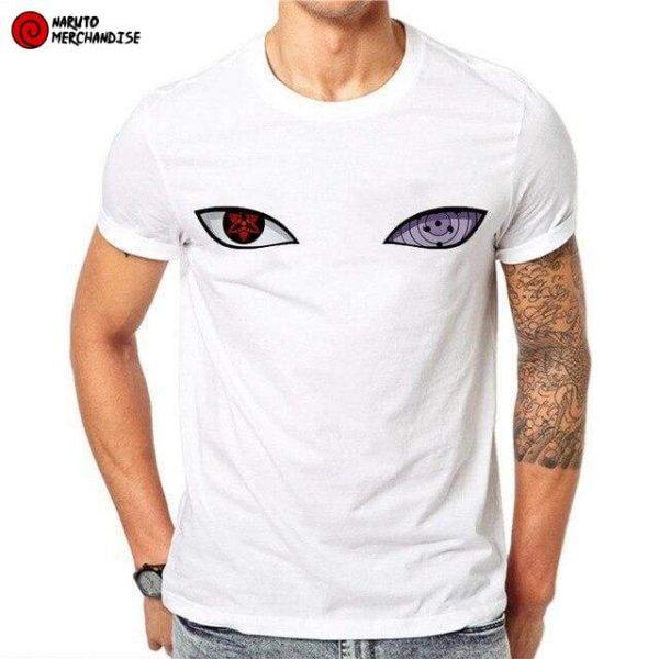 Naruto Shirt <br>Sasuke Sharingan Rinnegan