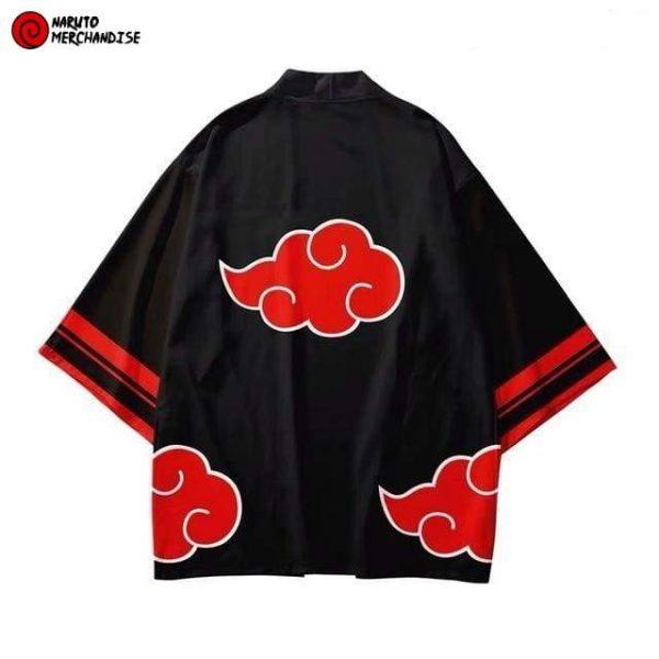 Naruto Kimono <br>Akatsuki Clouds