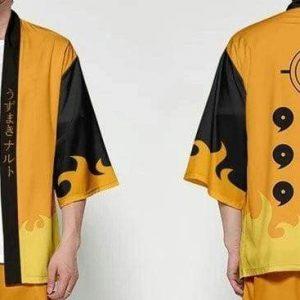 Naruto Kimono <br>Naruto Kyubi Chakra Mode
