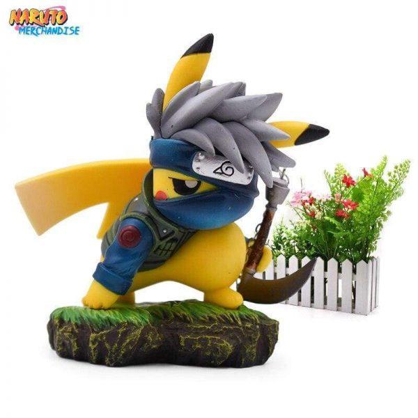 pikachu kakashi figure