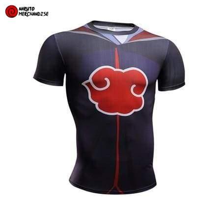 Naruto Workout Shirt <br>Akatsuki Clan