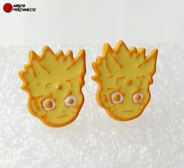 Naruto Earrings <br>Naruto Kyubi Chakra Mode