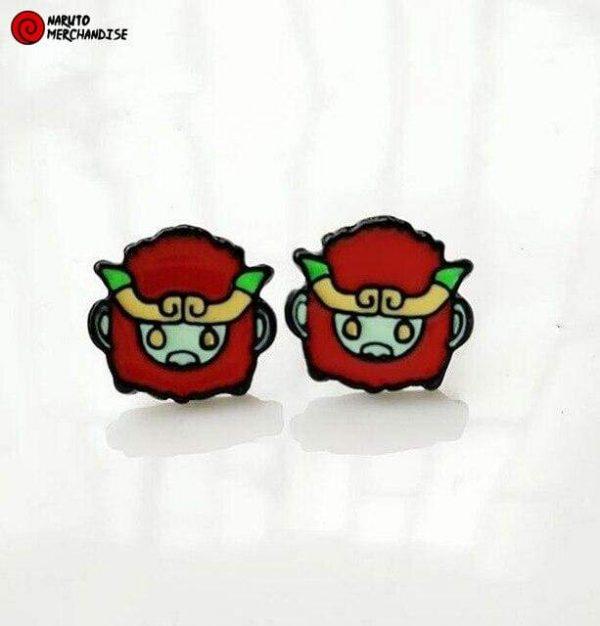 Naruto Earrings <br>Son Goku (Tailed Beast)