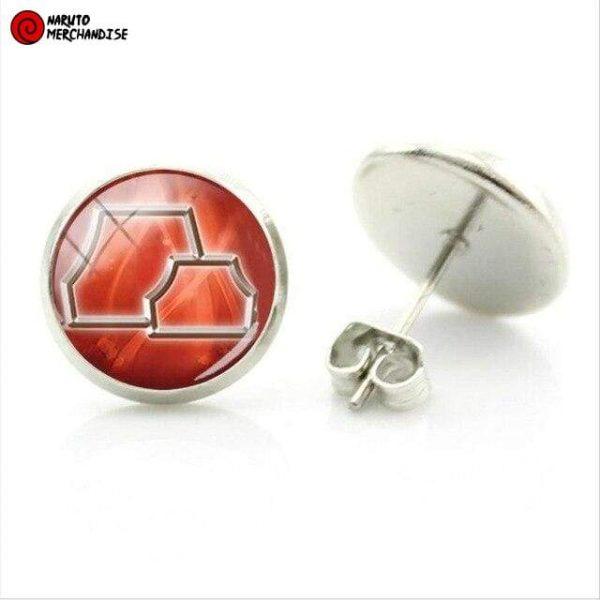 Naruto Earrings <br>Hidden Rock VIllage