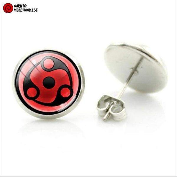 Naruto Earrings <br>Mangekyou Sharingan (Madara Uchiha)