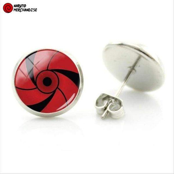 Naruto Earrings <br>Mangekyou Sharingan (Rai Uchiha)