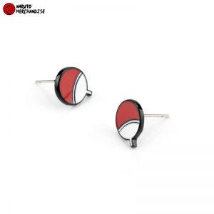 Naruto Earrings <br>Uchiha Clan Symbol