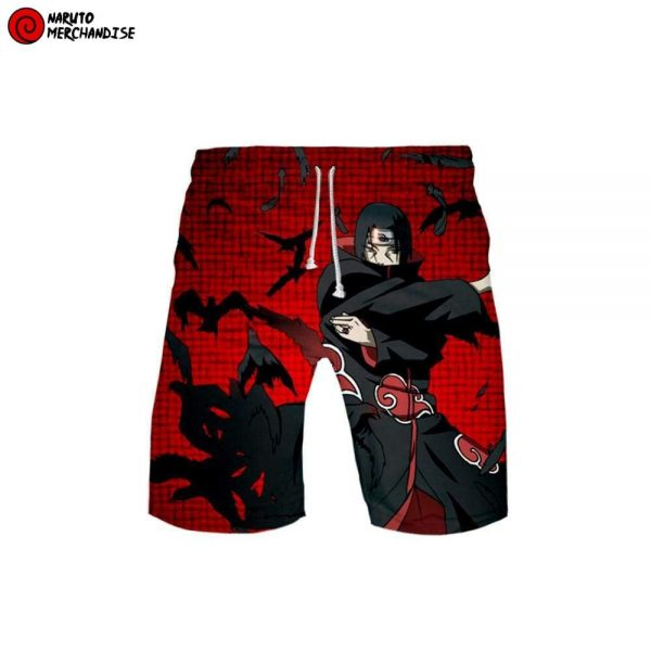 Naruto Swim Trunks Shorts <br>Itachi Akatsuki