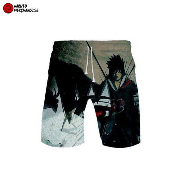 Naruto Swim Trunks Shorts <br>Naruto and Sasuke