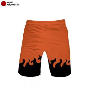 Naruto Swim Trunks Shorts <br>Orange