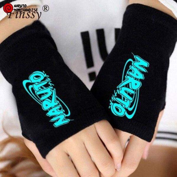 Naruto Gloves <br>Naruto Logo